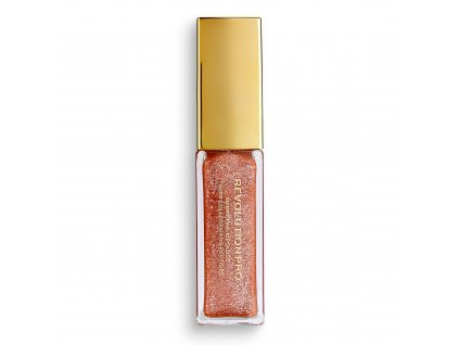 Makeup Revolution PRO - lesk na rty All That Glistens - Suede