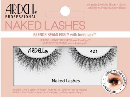 ARDELL - Nalepovací řasy Naked 421
