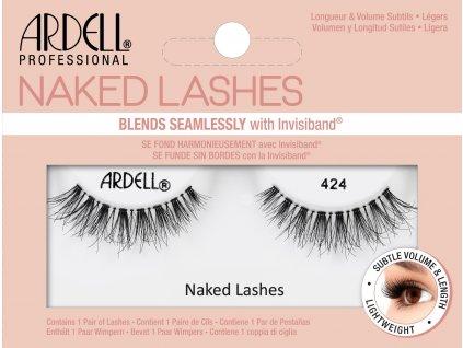 ARDELL - Nalepovací řasy Naked 424