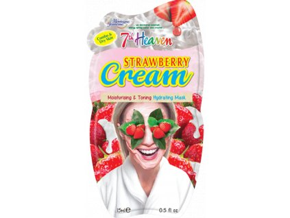 7th Heaven - Hydratační maska jahodový krém 15 g