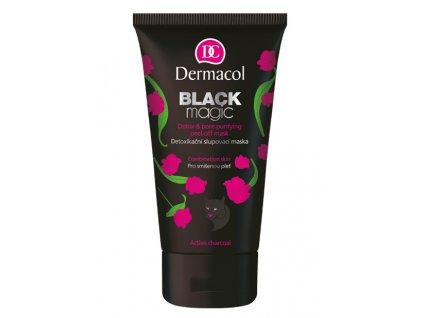 Dermacol -  Černá slupovací maska Black magic