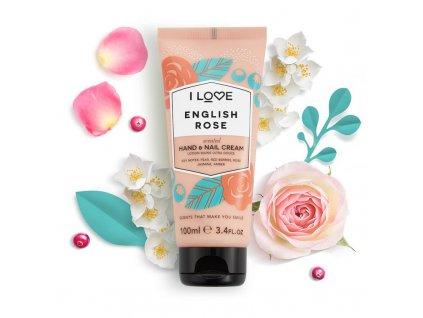 I LOVE - Krém na ruce anglická růže (English rose) 100 ml