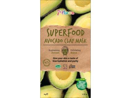 7th Heaven - Superfood Jílová maska Avokádo 10g