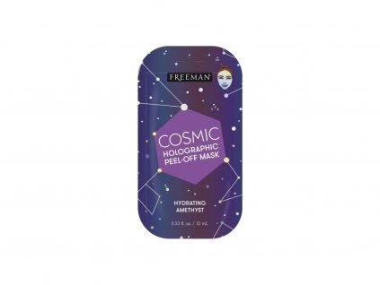 FREEMAN - Cosmic slupovací hydratační holografická maska - ametyst 10ml sachet