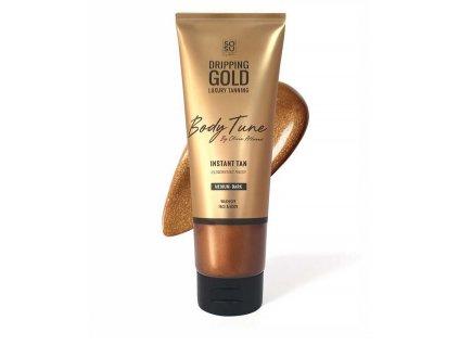 SOSU - Dripping Gold Luxusní samoopalovací mléko s okamžitým efektem DARK