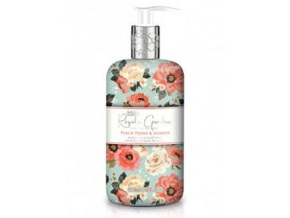 Baylis & Harding - Luxusní tekuté mýdlo na ruce - Peach Peony & Jasmine, 500ml