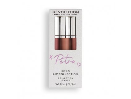 Makeup Revolution - Sada na rty by Petra XOXO