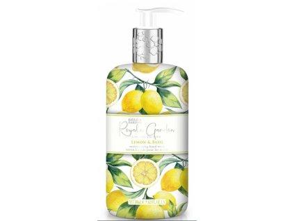 Baylis & Harding - Luxusní tekuté mýdlo na ruce - Lemon & Basil, 500ml