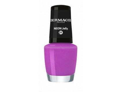 Dermacol - Lak na nehty Neon nail polish 31 5ml