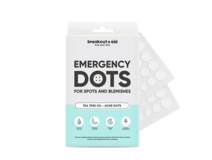 Breakout+aid - Náplasti na lokální ošetření akné s tea tree