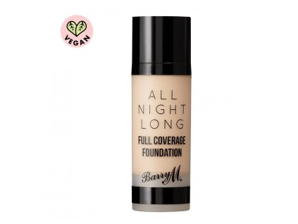 Barry M - Make-up All Night Long Full Coverage Foundation CASHEW