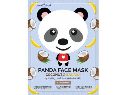 7th Heaven - Plátýnková maska hydratační PANDA