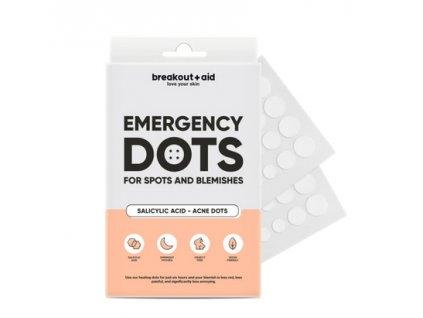 Breakout+aid - Náplasti na lokální ošetření akné s kyselinou salicylovou
