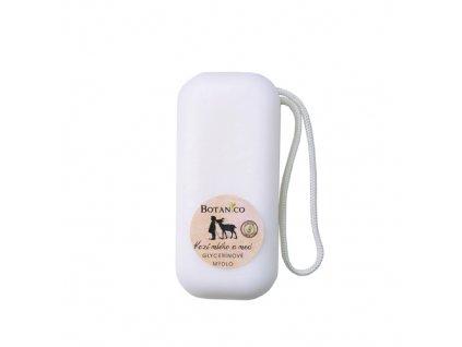 BOTANICO - Glycerínové mýdlo s kozím mlékem a medem – 200g se závěsem