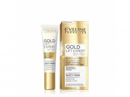 EVELINE - Luxusní zlatý oční krém GOLD LIFT EXPERT 15ml