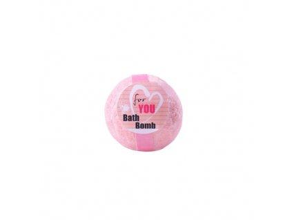 BOTANICO - koupelová koule šumivá 50g For You (růže)