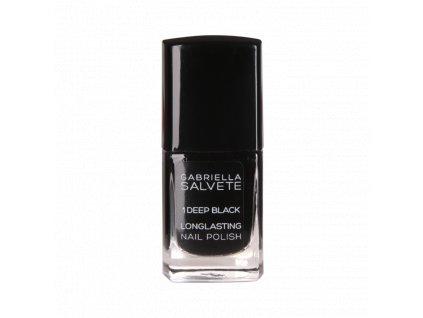 Gabriella Salvete - Dlouhotrvající lak na nehty 01 DEEP BLACK