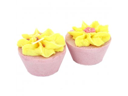 Patisserie De Bain - Duo Cupcaků do koupele Rhubarb & Custard