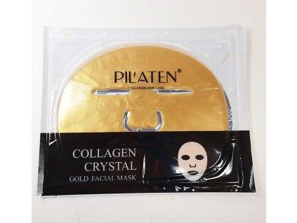 Pilaten - Zlatá kolagenová maska na obličej