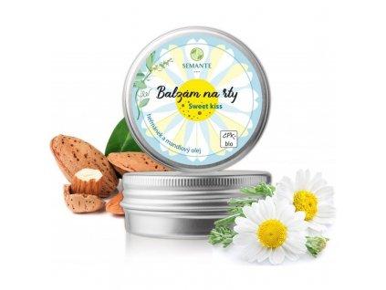 Semante - Ochranný balzám na rty s heřmánkem Sweet kiss BIO 30 ml