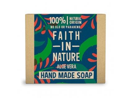 Faith In Nature - Ručně vyráběné přírodní mýdlo s aloe vera 100g