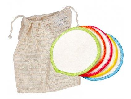Ecodis - Pratelné odličovací tamponky - velké (10 ks)