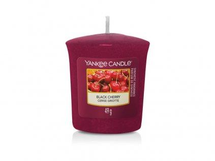 Yankee candle - Vonná svíčka votivní BLACK CHERRY