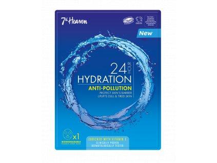 7th Heaven - 24h Hydratační ochranná plátýnková maska ANTI-POLLUTION