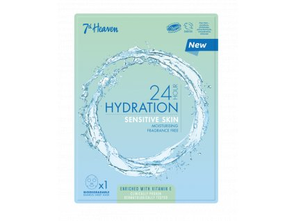 7th Heaven - 24h Hydratační plátýnková maska pro citlivou pleť