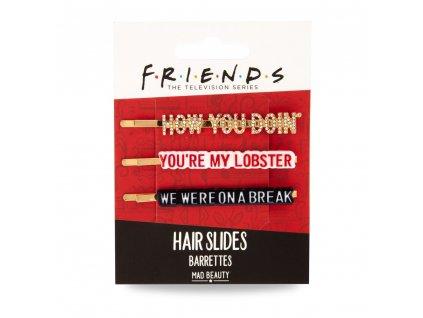 MAD Beauty - FRIENDS sponky do vlasů 3ks