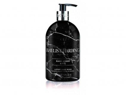 Baylis & Harding - Luxusní tekuté mýdlo na ruce - Dark amber & Fig, 500ml