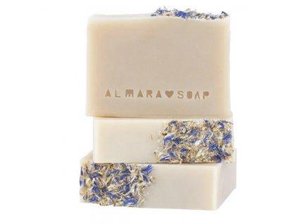 Almara Soap - Mýdlo   Přírodní mýdlo s bohatou pěnou vhodné na holení Shave It All 90g