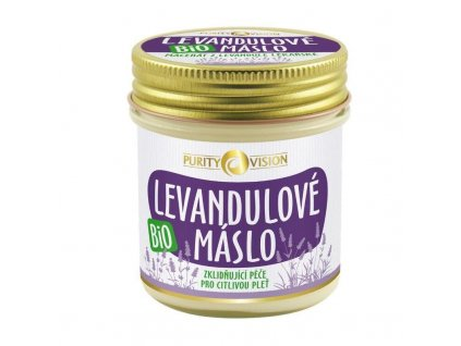 Purity Vision - Bio Levandulové máslo 120 ml