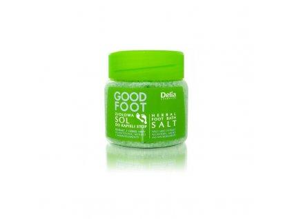 Delia - Good Foot bylinná sůl na nohy 570g