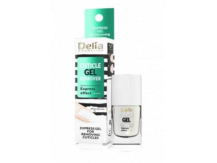 Delia - Cuticle gel remover, gel pro odstranění kůžičky na nehty 11ml