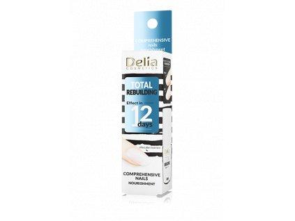 Delia - Nail conditioner TOTAL REBUILDING, kompexní výživa na nehty 11ml
