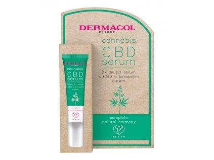 Dermacol - Cannabis zklidňující sérum s CBD a konopným olejem 12ml