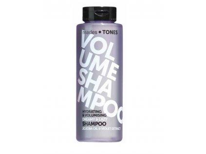Mades Cosmetics - Hydratační šampón pro větší objem - Jojoba & Fialka, 300ml