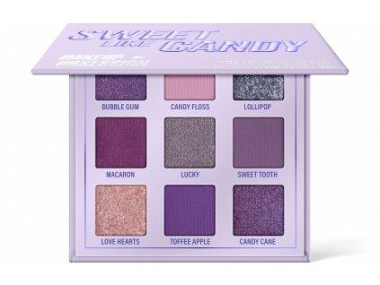 Makeup Obsession - Paletka 9 stínů Sweet like candy