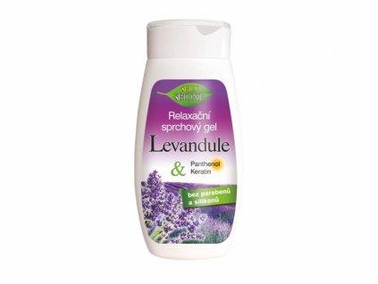 Bione Cosmetics - LEVANDULE Relaxační sprchový gel 260 ml