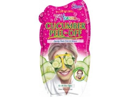 7th Heaven - Okurková slupovací peelingová maska 10 g