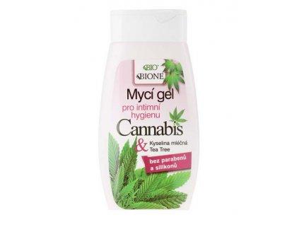 BIONE COSMETICS - CANNABIS BIO Mycí gel pro intimní hygienu