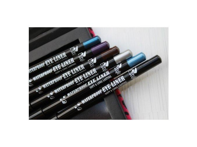E style - Waterproof Eye Liner voděodolná tužka na oči 03 Purple 1,4 g