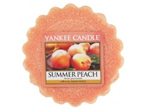 Yankee candle - Vonný vosk do aromalampy SUMMER PEACH