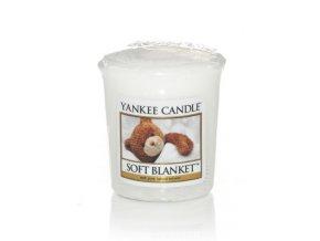 Yankee candle - Vonná svíčka votivní SOFT BLANKET