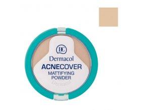 Dermacol - Acnecover matující pudr na problematickou pleť 4 Honey