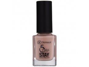Dermacol - Lak na nehty 5 Day Stay 08 Nude Skin