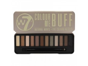 vyr 2252w7 colour me buff natural nudes eye shadow colour palette
