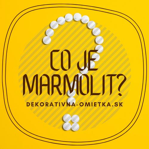 Čo je to marmolit a na čo sa používá?
