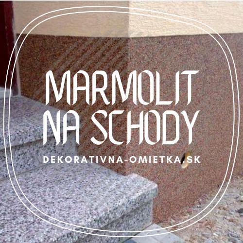 Marmolit na schody